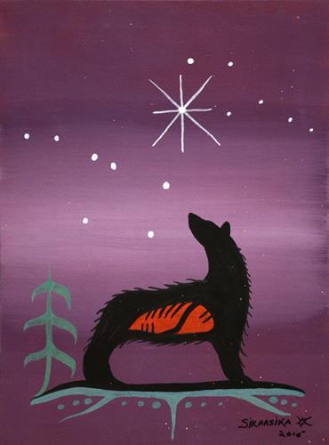 Purple Wolf by Francis Esquega Lake Superior Store