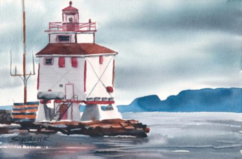 Thunder Bay Main Light Lake Superior Store