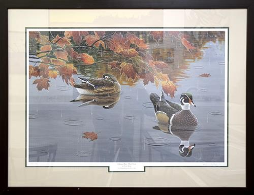 Autumn Rain by David Martin Lake Superior Store