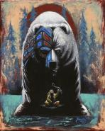 Bear by Dwayne Wabegijig Lake Superior Store