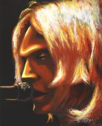 Curt Cobain by Dwayne Wabegijig Lake Superior Srtore