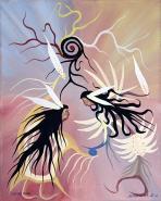 Dancers by Francis Esquega Lake Superior Store