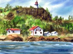 Prophry Island Lighthouse Ontario