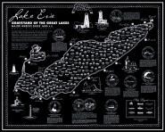 Lake Erie Shipwreck Map Lake Superior Store