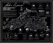Lake Superior Shipwreck Map Lake Superior Store