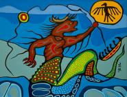 Guardian of the Great Lakes by Moses Beaver