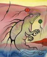 Dreams of Sea Serpent by Moses Beaver