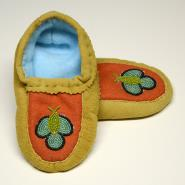 Child's Deerskin Moccasins