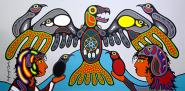 Together As One by Canadian Artist, Eugene Morriseau