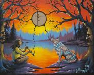 Wold Clan by Dwayne Wabegijig Lake Superior Store