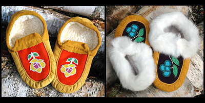 Canadian Aboriginal Art, Moccasins