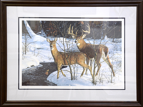 Doe & Buck by Bruce Miller